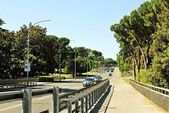 Rome city life. View of Rome city new district on June 1, 2014 — Stockfoto