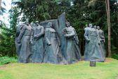 Sculpture in the Grutas park near Druskininkai city — Stock Photo