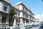 Rome city Palace of Justice architecture view on May 30, 2014 — Stock Photo
