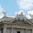 View of Rome city Piazza della Reppublica on June 1, 2014 — Stock Photo #58821215