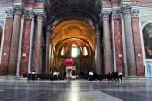 Basilica of Santa Maria degli Angeli e dei Martiri in Rome — 图库照片
