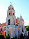 All Saints Church in Vilnius town, capital of Lithuania.  — Stock Photo