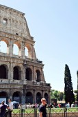View of Rome city old center on June 1, 2014 — Stock Photo