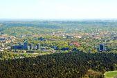 Vilnius city capital of Lithuania aerial view — Zdjęcie stockowe