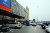 Vilnius city Pasilaiciai district Senukai shop centre  — Stok fotoğraf