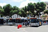 View of Rome city Termini station on June 1, 2014 — Стоковое фото