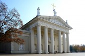 Vilnius Katedrali Litvanya Ana Kilisesi olduğunu — Stok fotoğraf