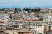 аэрофотоснимок рим от памятник витторио эмануэле — Стоковое фото