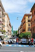Rome city street life on May 30, 2014 — Foto de Stock