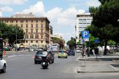 Rome city life. View of Rome city on June 1, 2014 — Foto de Stock