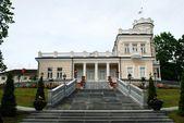 Beatiful bright house in Druskinikai city centre — Stok fotoğraf