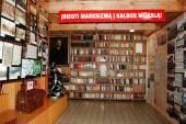 In the libraryof the Grutas park near Druskininkai — Стоковое фото