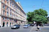 Rome city street life on May 30, 2014 — Stock Photo