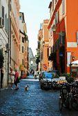 Leven in de stad Rome. Uitzicht over Rome stad op 1 juni 2014 — Stockfoto