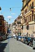 Rome city life. View of Rome city on June 1, 2014 — Stock fotografie