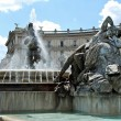 View of Rome city Piazza della Reppublica on June 1, 2014 — Stock Photo #61318789