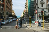 Rome city life. View of Rome city on May 31, 2014 — Stock Photo