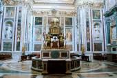 Basilica Santa Maria maggiore - Rome - inside  — Stock Photo