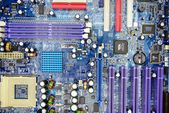 Computer motherboard in private collection on November 23, 2014 — Stockfoto