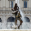 View of Rome city Piazza della Reppublica on June 1, 2014 — Stock Photo #61704017