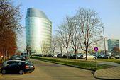 Vilnius city center at autumn time on November 11, 2014 — Stock Photo