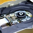 Laser in DVD-ROM disk drive open unit  — Stock Photo #62138659