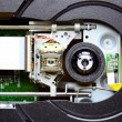 Laser in DVD-ROM disk drive open unit  — Stock Photo #62231433