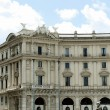 View of Rome city Piazza della Reppublica on June 1, 2014 — Stock Photo #62238823