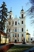 Church of St. Catherine on December 26, 2014 — Stockfoto