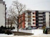 Vilnius stad huizen Zirmunai district Nord stad — Stockfoto