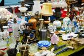 Vilnius city in annual traditional crafts fair: Kaziukas fair — Stock Photo