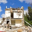 House being demolished, demolishing first and then rebuild — Stock Photo #71306247
