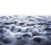 Streaming water — Stock Photo