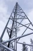 Radio transmitting tower — Stock Photo