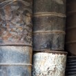 Rusty oil barrels — Stock Photo #63947259