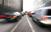 Busy Urban traffic — Stock Photo
