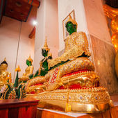 Phra Kaew Emerald Buddha image of 3 season — Foto Stock