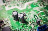 Capacity on electronic board — Stock Photo