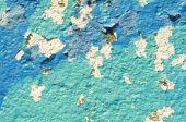 Grunge paint wall — Stock Photo