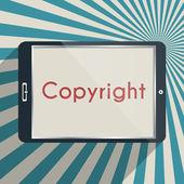 Copyright — Stock Vector