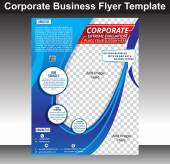 Corporate Business flyer Template — Stock Vector