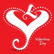 Abstract Valentine Day Gretting Card — Stock Vector #63400091