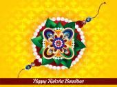 Happy raksha bandhan background — Stock Vector