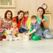 Mothers with their kids — Stock Photo #66126801
