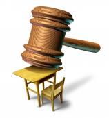 Ley de educación — Foto de Stock