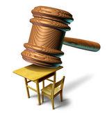 Onderwijs recht — Stockfoto