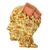Thinking Movies — Stock Photo