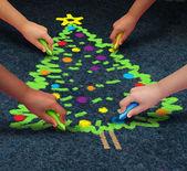 Community Christmas — Stock Photo