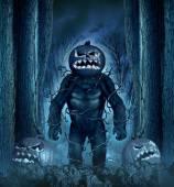 Halloween Evil Monster — Stock Photo