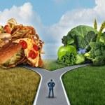 Diet Decision — Stock Photo #52890113